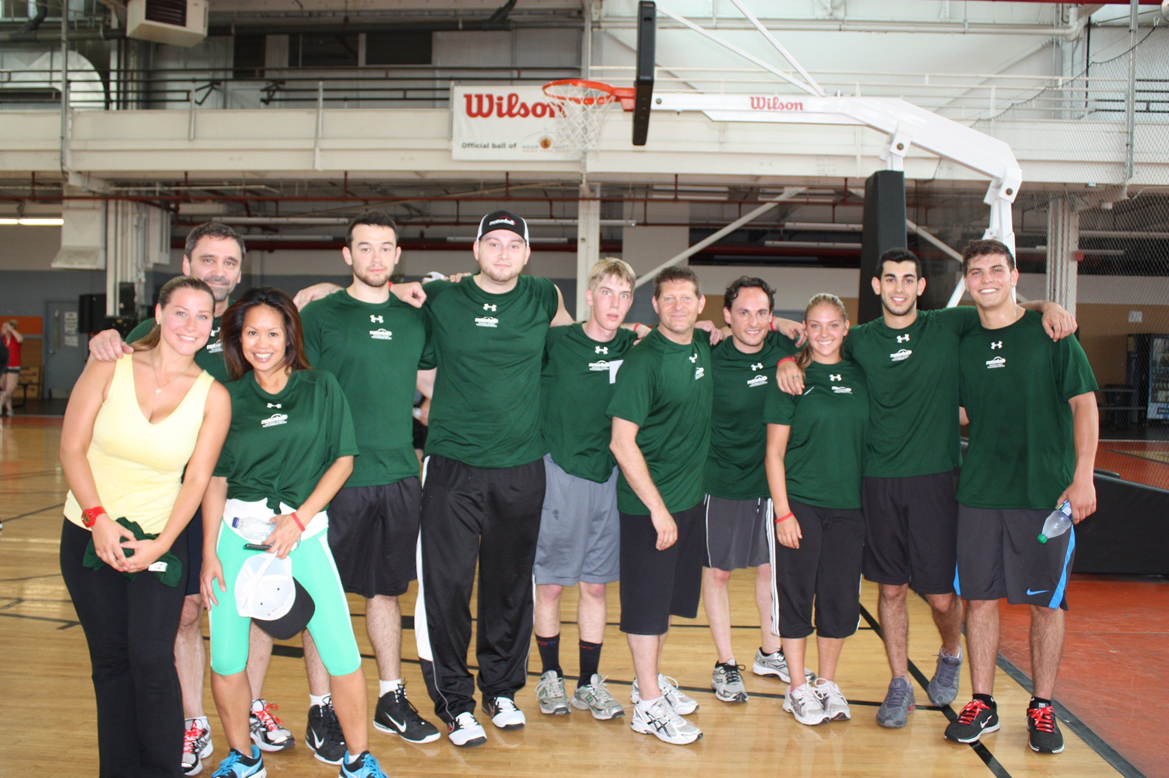 Motionball team photo