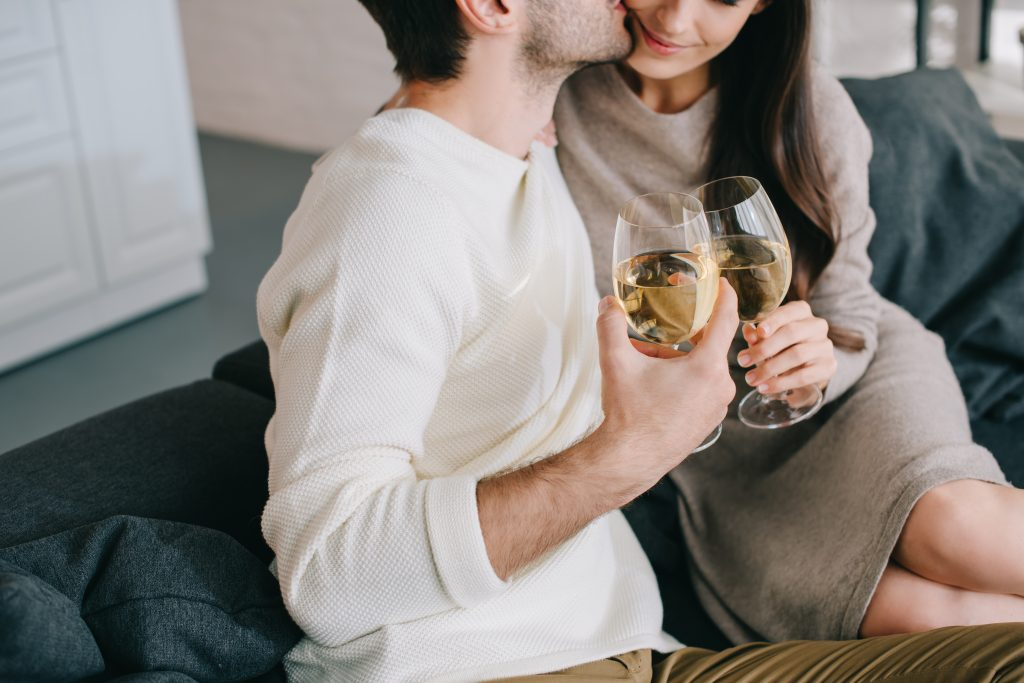 Best At Home Date Night Ideas - Wine Tasting