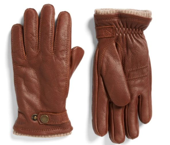 Top 10 Men's Fashion Trends for Winter 2021 - Brown Leather Gloves
