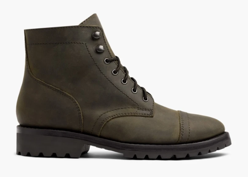 Top 10 Men's Fashion Trends for Winter 2021 - Dark Olive Winter Boots